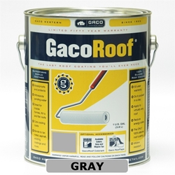 GacoRoof Roof Coating - Gray - 1 Gallon