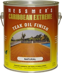 Messmers Caribbean Extreme Teak Oil Finish - 1 Gallon