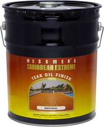 Messmers Caribbean Extreme Teak Oil Finish - 5 Gallon