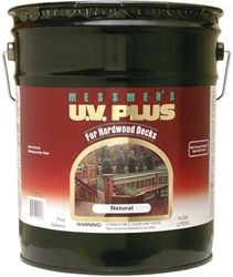 Messmers UV Plus for Hardwood Decks 100 VOC - Five Gallon
