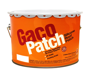 GacoPatch Silicone Roof Patch White - 2 GL