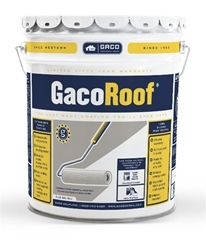 GacoRoof Roof Coating - White - 5 Gallon
