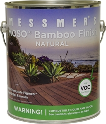 Messmers MOSO Bamboo Finish - Gallon